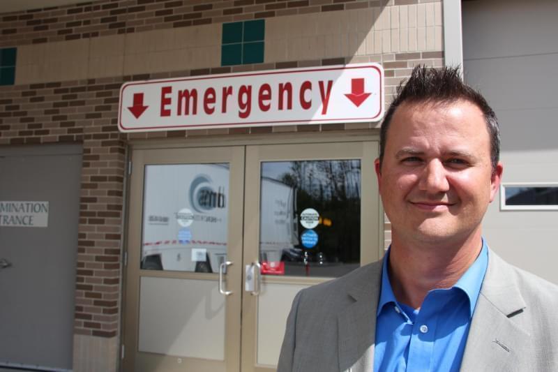 Bigfork Valley Hospital CEO Aaron Saude