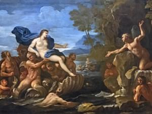 A painting of the Acis and Galatea opera.