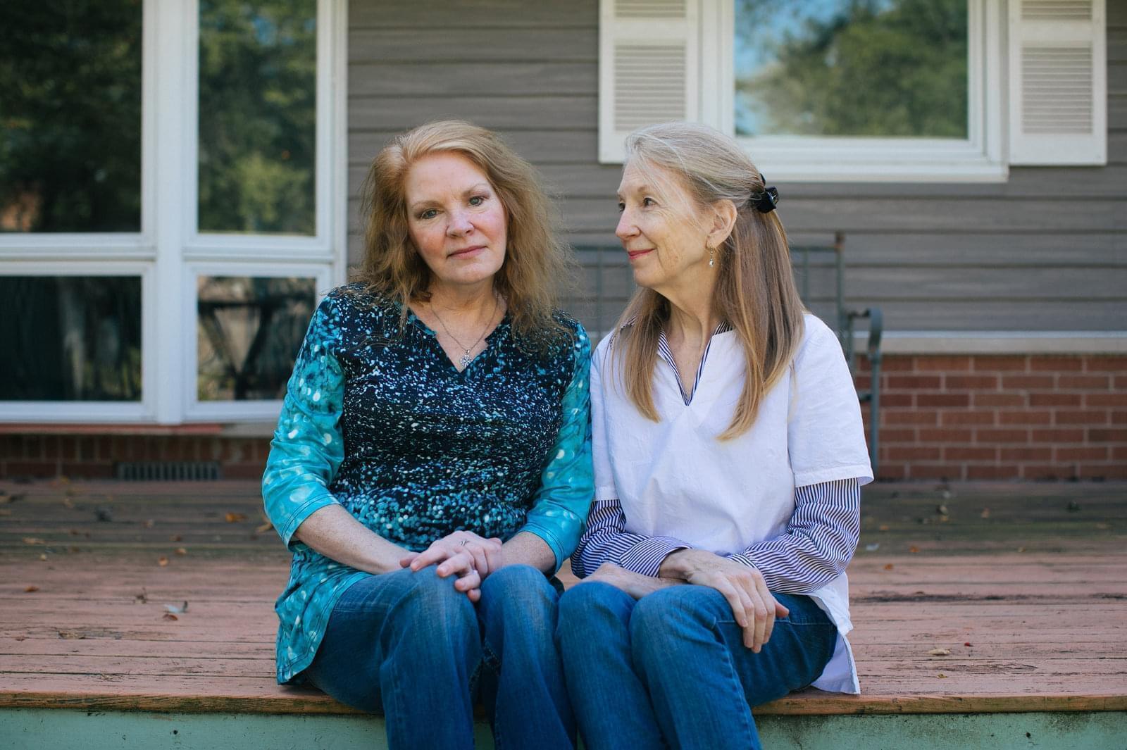 Arline Feilen and Kathy McCoy