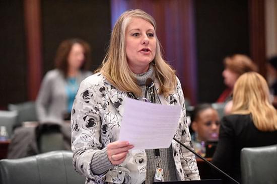 State Representative Stephanie Kifowit