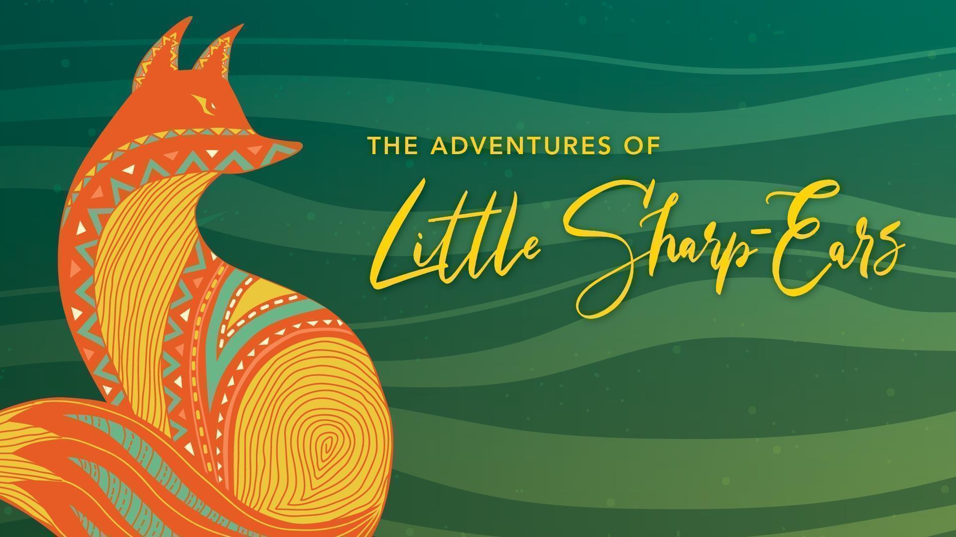 Poster art for The Adventures of Little Sharp Ears