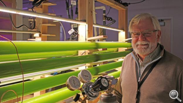 Paul Black in the laboratory at Nebraska Innovation Campus.