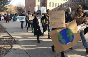 Climate Strike Two demonstrators.