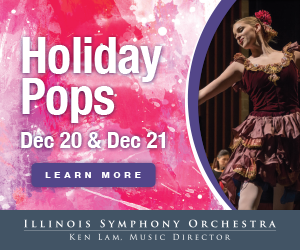 Holiday Pops concert December 20 and 21.