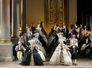 Picture of the Metropolitan Opera performing The Queen of Spades.
