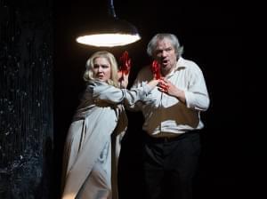 The Metropolitan Opera performing Macbeth on stage.