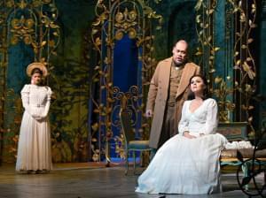 The Metropolitan Opera performing La Traviata on stage.