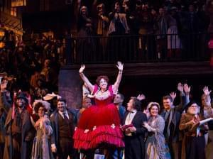 Photo of The Metropolitan Opera performing Puccini's La Bohème.