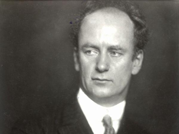 Portrait of Wilhelm Furtwangler.