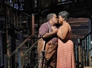 The Metropolitan Opera performing Porgy and Bess on stage.