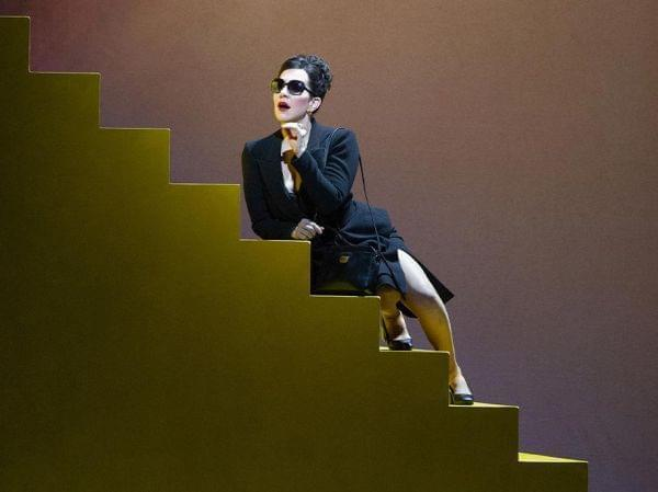 The Met Ensemble performing Handel'sAgrippina on stage.