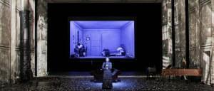 The Metropolitan Opera performs Massenet's Werther on stage.