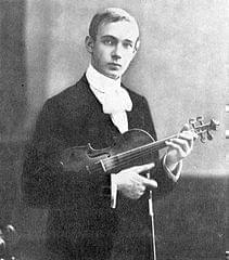 Portrait of Joseph Szigeti.