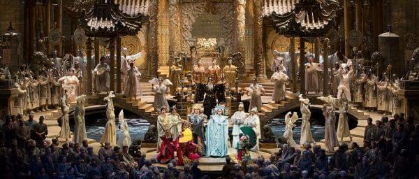 The Met Ensemble performing Puccini'sTurandot.