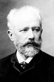 Portrait of Tchaikovsky.