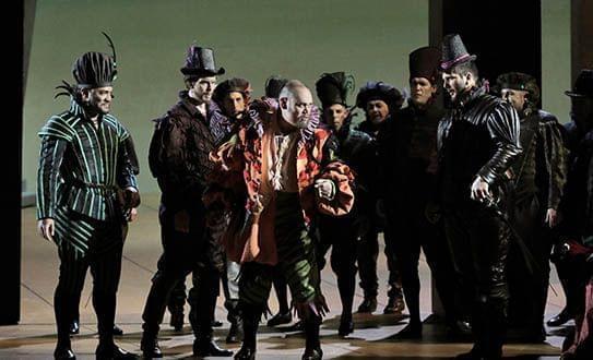 The Lyric Opera of Chicago perform Verdi's Rigoletto.