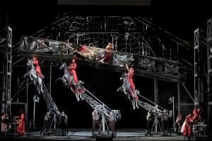 The Lyric Opera of Chicago Ensemble performing Wagner's Die Walküre.