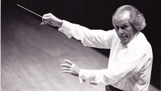 Frederick Fennell conducting.