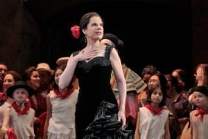 The Los Angeles Opera ensemble performs Bizet's Carmen.