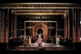 The Los Angeles Opera ensemble performing Mozart's The Clemency of Titus.