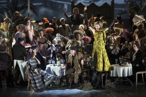 The Los Angeles Opera ensemble performs Puccini's La Bohème.