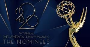 Text: 2020 44th annual Mid-America EMMY® Awards nominees