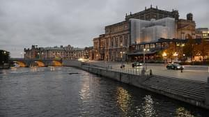 Royal Swedish Opera on the north side of the Norrström river