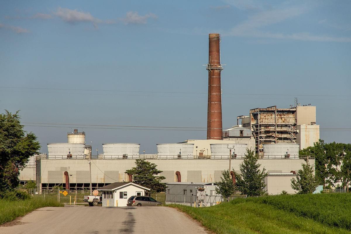 The Vermilion Power Station coal plant