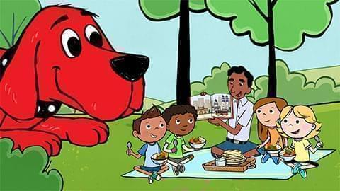 Clifford the Big Red Dog illustration