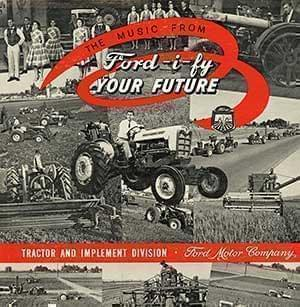Ford's Industrial Musical Soundtrack cover