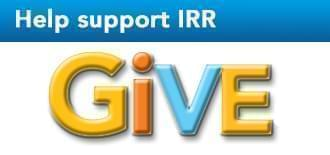 Help support IRR. Give.