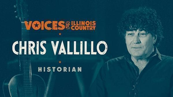 Voices of Illinois Country title screen for Chris Vallillo