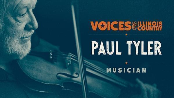 Voices of Illinois Country title screen for Paul Tyler