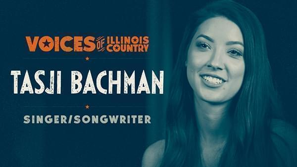 Voices of Illinois Country title screen for Tasji Bachman