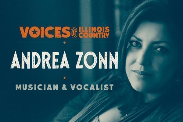 Voices of Illinois Country Andrea Zonn musician and vocalist