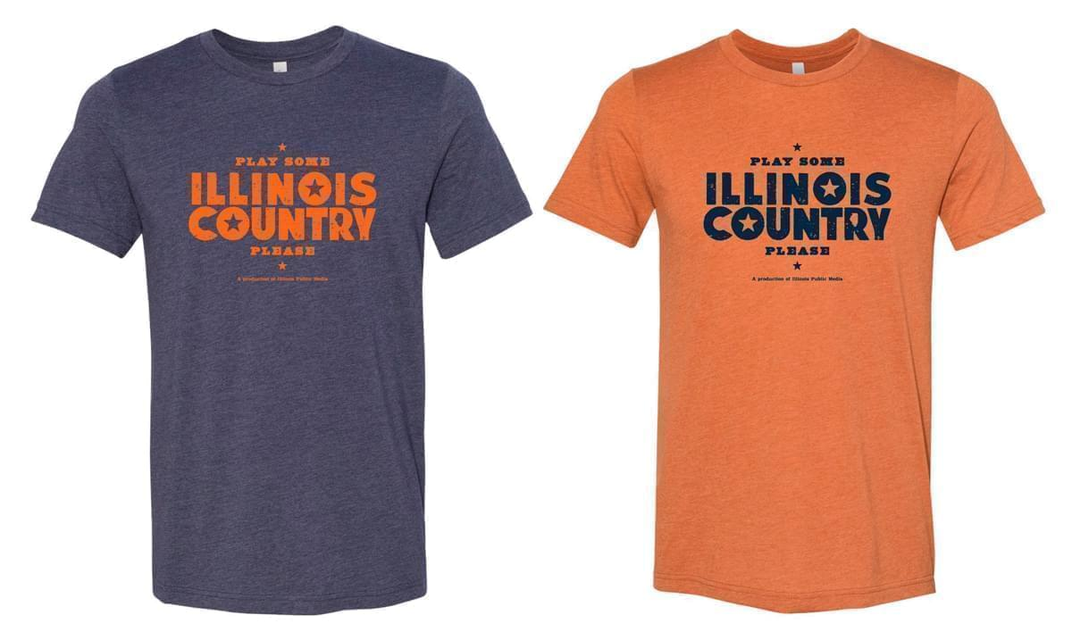 Illinois Country tee shirts