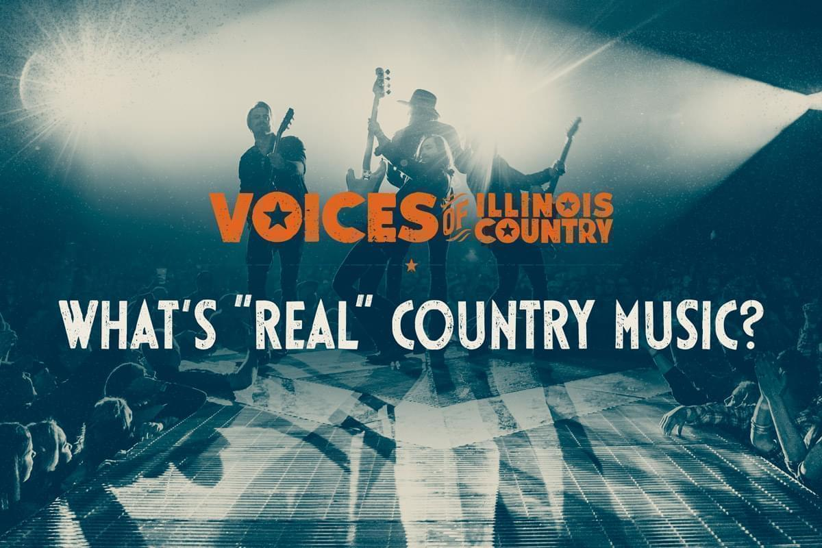 Voices of Illinois Country title screen for Whats Real Country Music